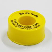 Fita expandida de PTFE / Teflon com auto-adesivo para tubo de água