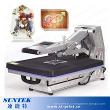 Máquina Manual de Prensa Térmica para T-Shirt 220V Digital com Gaveta