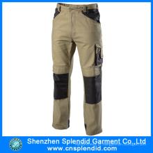 Calças do Workwear dos uniformes profissionais do trabalho do projeto o mais atrasado para homens