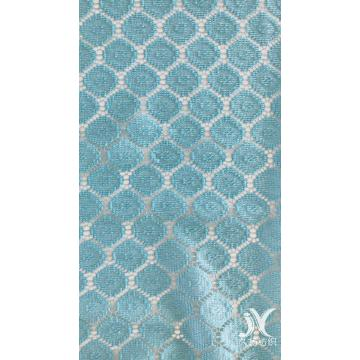 Rhombus Pattern Poly Lace Fabric