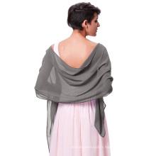 """Kate Kasin Stock 72 * 18 """"écharpe foulard foulard écharpe en mousseline de soie chifre nuptiale écharpes KK000229-9"""
