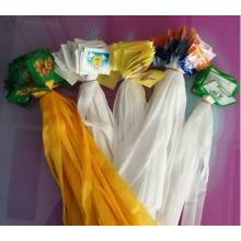 Hot Selling white tube garlic net bag