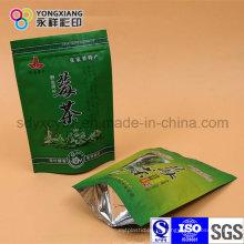 Встаньте пластиковый мешок для упаковки чая Ziplock