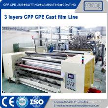 Professional CPP cast film extrusion line