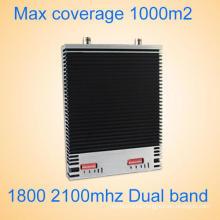 Conjunto Completo GSM / Dcs 1800 2100 2g / 3G / 4G Signal Booster / Repetidor 27dBm