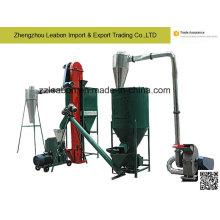 Línea de fabricación de pellets de alimentación de aves de corral 500kg / H