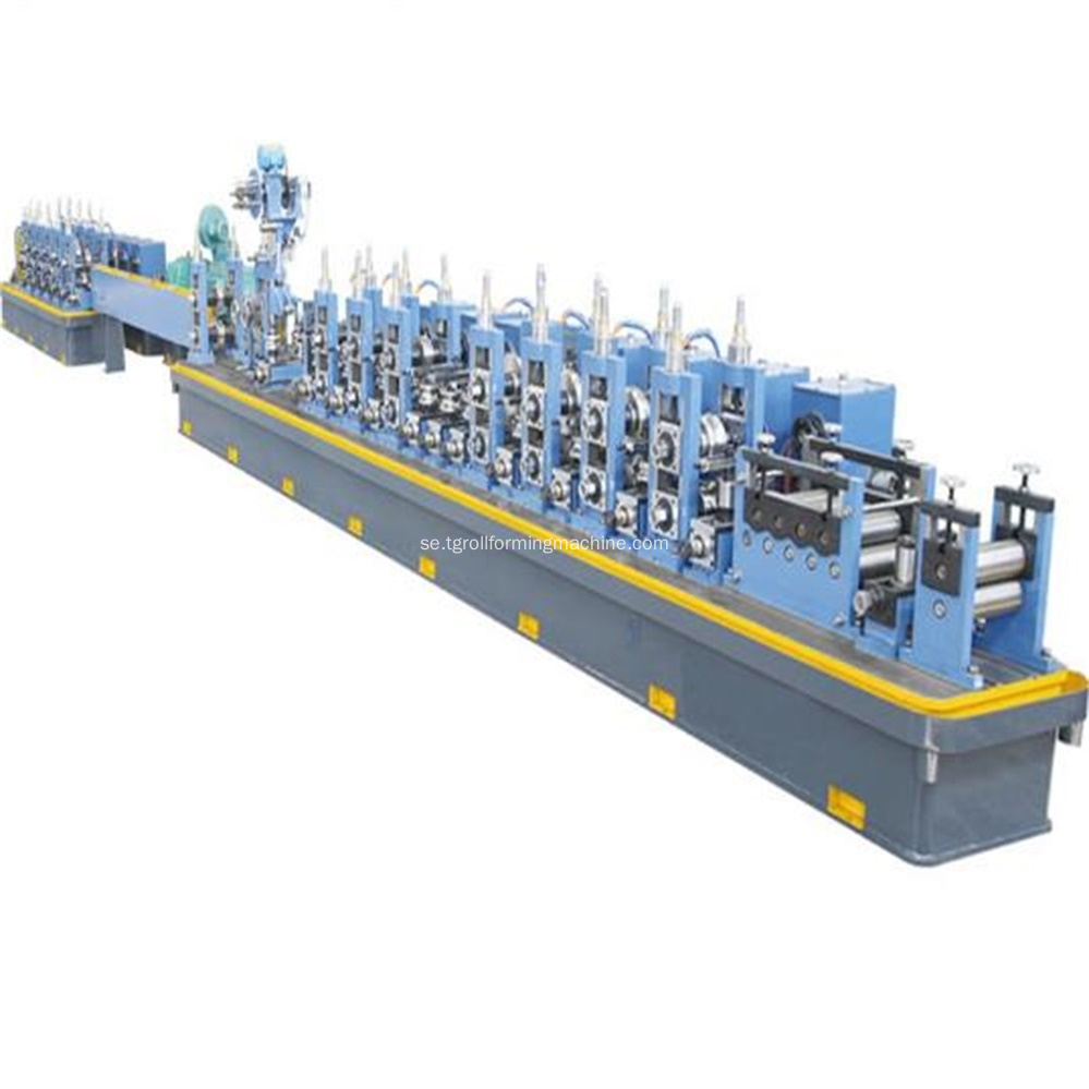 High Frequency Welded Square Tube Mill Maskin