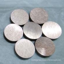 Tungsten Copper Disc W80cu20 with ISO9001 From Zhuzhou Jiabang
