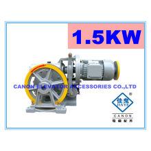 200KG 1.5 kW máquina do elevador monta-cargas