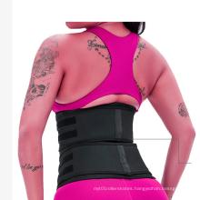 Steel Bone Double Strap Corset Women Waist Trainer with Hooks Zipper and Strap
