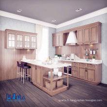 Armoires de cuisine classique en bois chêne
