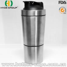 Garrafa de aço inoxidável 700ml proteína shaker (HDP-0598)