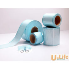 Rouleau à gousset à bobine plate à stérilisation par étanchéité thermique