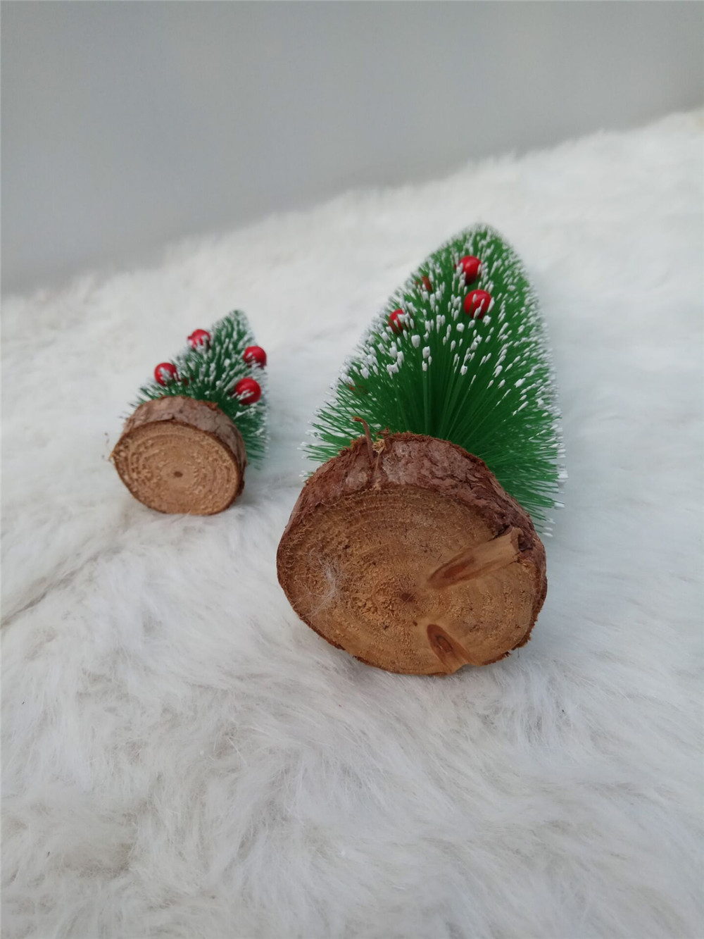 table decoration wooden chirstmas tree
