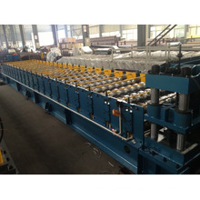 corrugated iron roof making machine /double layer roll forming machine /roof tile making machine