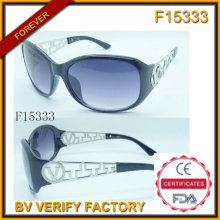Unsex Individualität Rahmen Sonnenbrillen mit kostenlose Probe (F15333)