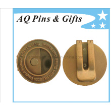 Professional Factory Metal Money Clip in Antique Plating (Golf-24)