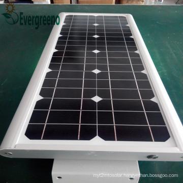 15W Integrated Solar Street Light with Motion Sensor