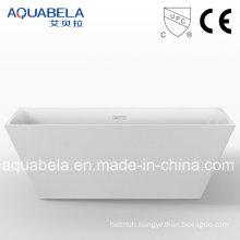 European Popular Item Narrow Flange Freestanding Hot Tub (JL630)
