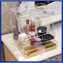 Organiseur de maquillage acrylique moderne à la maison moderne