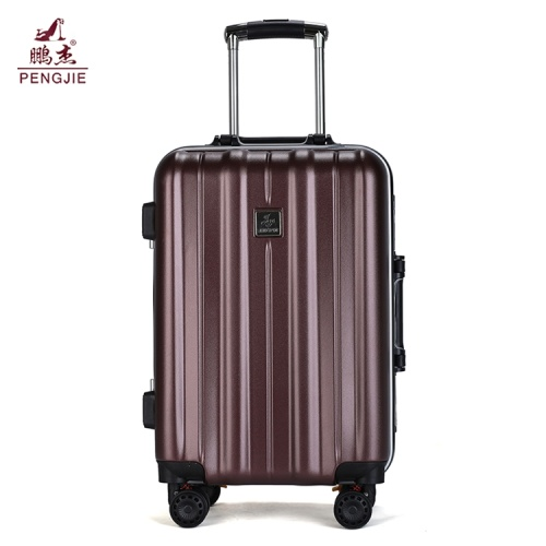"Venda quente rodada zipper 24 ""pc bagagem trolly"