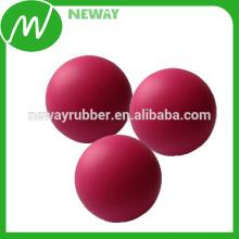 Fábrica Personalizar precios asequibles Bola de goma de 17mm