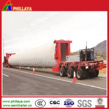Hydraulic Rotary Axles Girder Transport Trailer