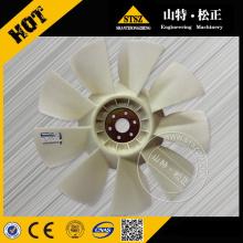 O caminhão de mineração Komatsu parte o ventilador de refrigeração HD465-7 600-645-1120