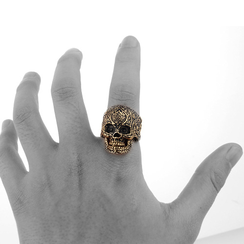 Skull Finger Ring