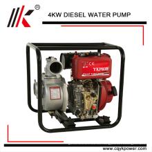 Mini-5hp-Dieselmotor-Wasserpumpe stellte mit bestem Preis für Verkauf in Indien ein