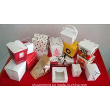 Caixa de papel / caixa de lanche / caixa de sanduíche / caixa de macarrão
