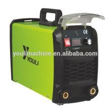 Portable Inverter mosfet máquina de solda mma com tampa de plástico MMA-200