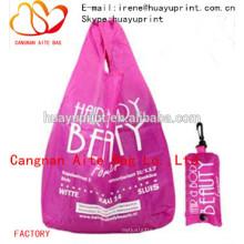 Nylon faltbare Tasche & faltbare Einkaufstasche