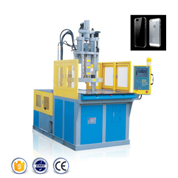Machine rotative de moulage par injection de caisse mobile transparente