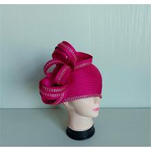 Women' Fancy Polyester Satin Ribbon Millinery Church Hats