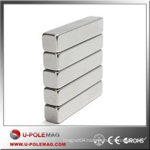Hot Sale Magnets Block NdFeB/F100x25x10mm N45 Cube Magnets Neodymium/Neodymium Magnet Cube Axial China