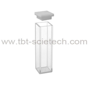 China Q-206 Standard fluorometer cell with lid