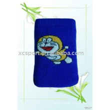 Knitted cute fashion cellphone pouch