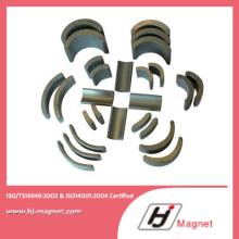 2016 Customized Factory Strong Ferrite Segment Magnet