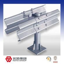 Rails de garde de poutre en métal Q235 w utilisés dans l'autoroute / manière expresse