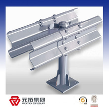 Hot Galvanized Corrugated Road Metal Guard Rail for sale