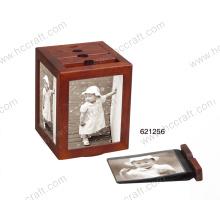 Деревянные фото Альбом коробки для подарков