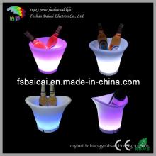 LED Plastic Ice Bucket