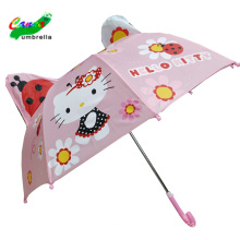 Hot sales kids children animal fancy unicorn cat umbrella for gift