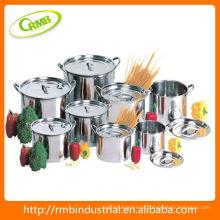 Conjunto de panela de aço inoxidável (RMB)