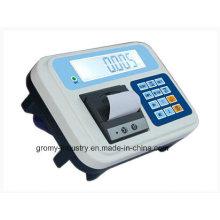 Indicador de pesaje electrónico con impresora térmica