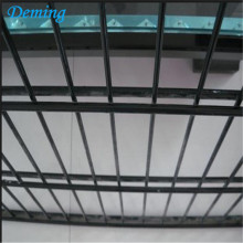 Pvc Dilapisi Twin Wire Mesh Fence Panel