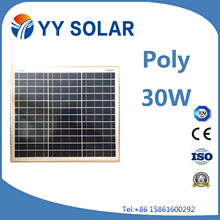 20W 30W 40W Solar Panel for Lightings/Marine Applications
