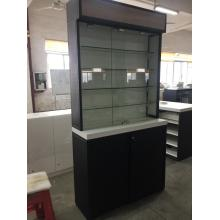 Cosmetic Rack Shelving Trade Show Display Case