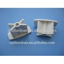 Компонент занавеса - торцевая крышка из ПВХ для нижней направляющей, рольставни, принадлежности для рольставней, торцевая заглушка для рольставней